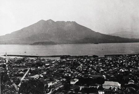 博物館所蔵「桜島大正噴火写真」一覧